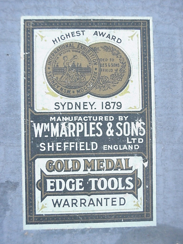 Marples Chisels Made In England