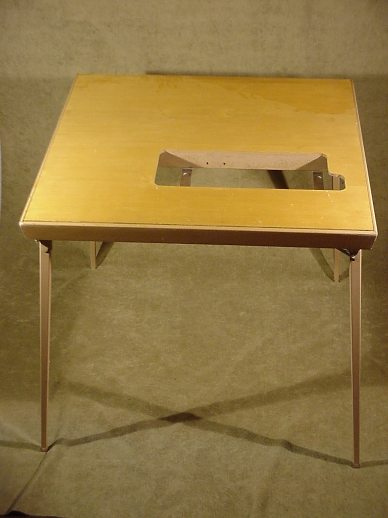 Vintage Singer Folding Sewing Machine Table For Mod 300