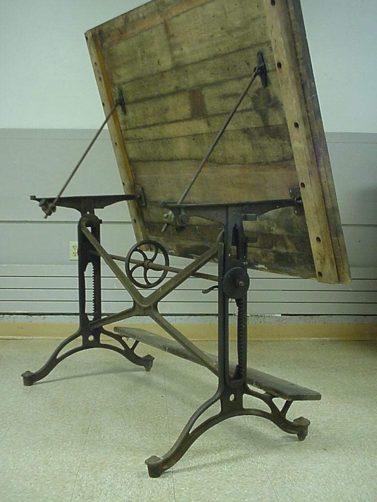 Antique Industrial Age Cast Iron Keuffel Amp Esser Adjustabl