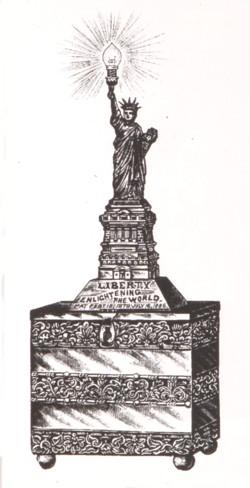 Statue of Liberty Novelty Light no.1